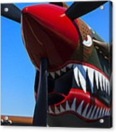 Curtiss P-40n-5 Kittyhawk Acrylic Print