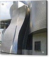 Curves Of The Guggenheim Acrylic Print
