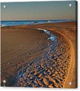 Curving To The Sea I Acrylic Print