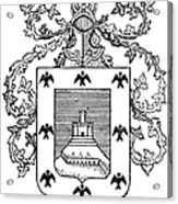 Cusco: Coat Of Arms Acrylic Print