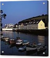 Cushendun Harbour, Co Antrim, Ireland Acrylic Print