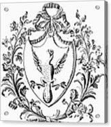 Custis: Coat Of Arms Acrylic Print