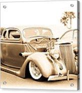 Custom 1936 Ford Acrylic Print