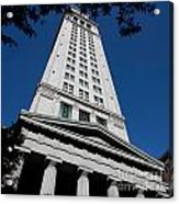 Custom House Boston Acrylic Print
