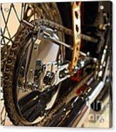 Custom Motorcycle Chopper . 7d13320 Acrylic Print