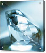 Cut Diamond Acrylic Print