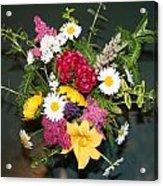 Cut Flowers Acrylic Print