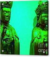 Cy-buddhas Acrylic Print