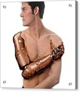 Cybernetic Arm, Composite Image Acrylic Print by Victor Habbick Visions