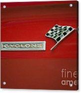 Cyclone Emblem Acrylic Print