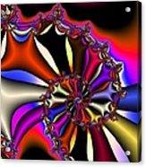 Cyclone Of Color Acrylic Print