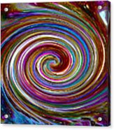 Cyclone Of Color Acrylic Print