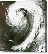 Cyclone Over Lake Michigan Acrylic Print