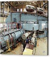 Cyclotron Particle Accelerator Acrylic Print by Ria Novosti