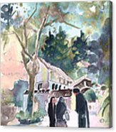 Cyprian Monastery Acrylic Print