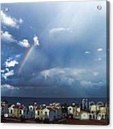 Cyprus Rainbow Acrylic Print