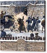 Czars Assassination, 1881 Acrylic Print