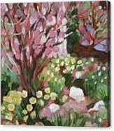 Daffodil Garden Acrylic Print