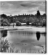 D'agostini Lake Acrylic Print