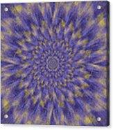 Dahlia Akita Acrylic Print