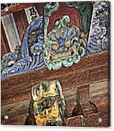 Daigoji Temple Gate Gargoyle - Kyoto Japan Acrylic Print