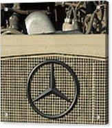 Daimler-benz A-g Hood Emblem Acrylic Print