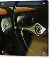 Daimler Steering Wheel Acrylic Print