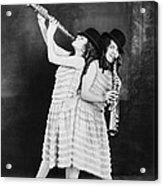 Daisy And Violet Hilton 1908-1969 Acrylic Print