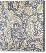 Daisy Design Acrylic Print by William Morris