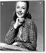 Dale Evans 1912-2001, American Actress Acrylic Print by Everett
