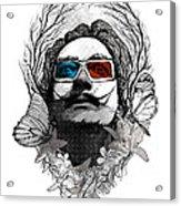 Dali In 3d Acrylic Print