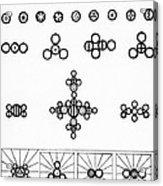 Daltons Symbols Acrylic Print