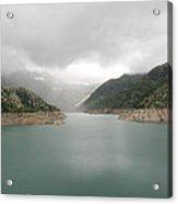 Dam Reservoir Acrylic Print