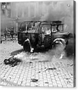 Damage Done By A V-2 Rocket In Antwerp Acrylic Print