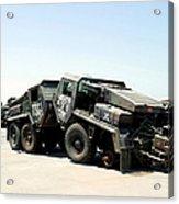 Damaged Mk48 Front Power Units Acrylic Print