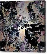 Damask Tapestry Acrylic Print