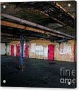 Damp Basement Area Acrylic Print by Richard Thomas