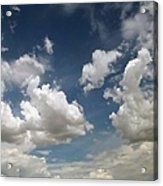 Dance Of The Clouds - Series Acrylic Print