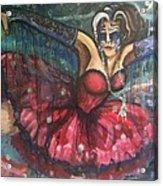 Dance Of The Fireflies Acrylic Print