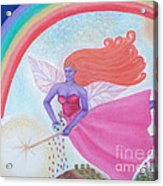 Dance With The Fairy Queen Acrylic Print