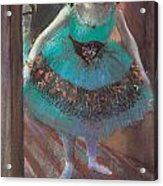 Dancer Leaving Her Dressing Room Acrylic Print by Edgar Degas