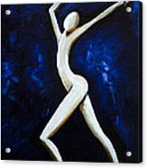 Dancer Of Light  Acrylic Print by Simona  Mereu