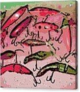 Dancing Colors Acrylic Print