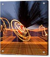 Dancing Fire Acrylic Print