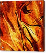 Dancing Fire Vi Acrylic Print