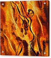Dancing Fire Viii Acrylic Print