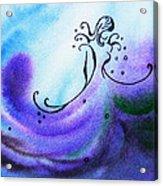 Dancing Water II Acrylic Print
