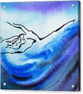 Dancing Water IIi Acrylic Print
