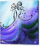Dancing Water Vi Acrylic Print