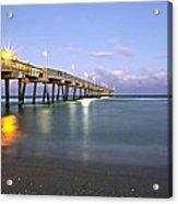 Dania Beach Pier Acrylic Print